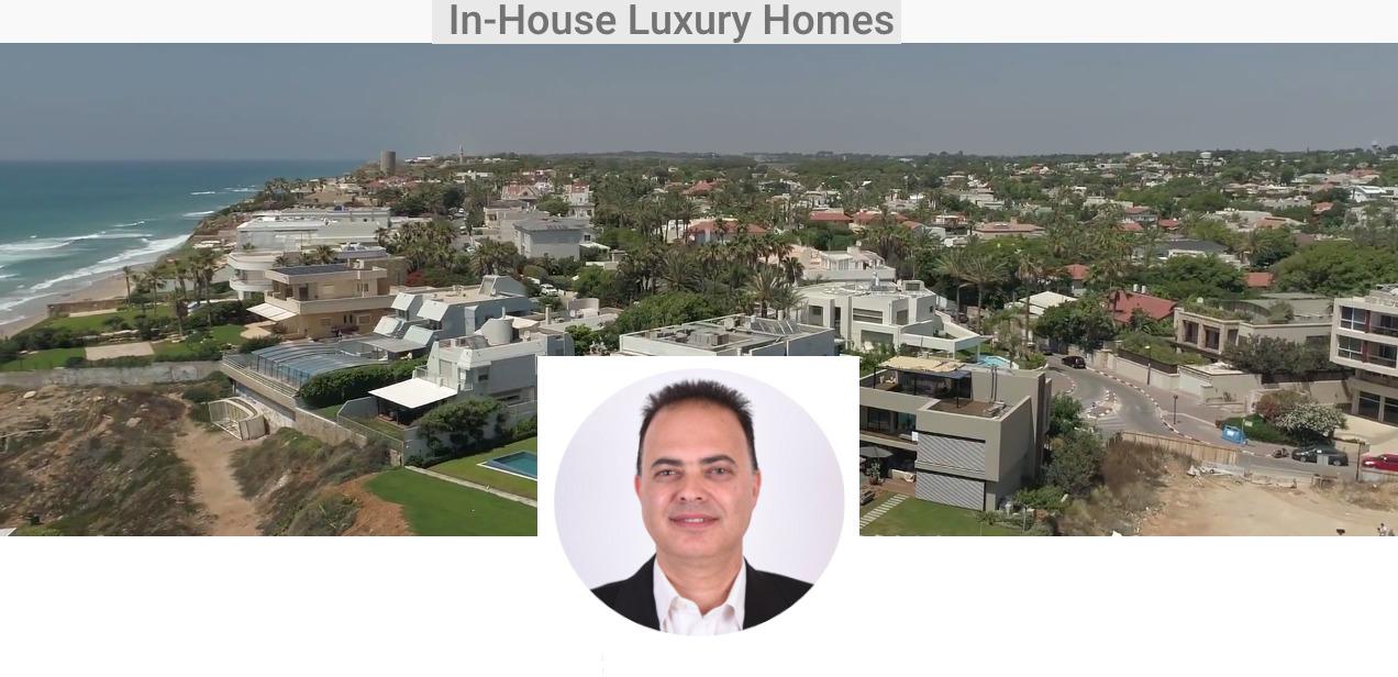 מבריק Luxury Homes In Israel – בתי יוקרה של ישראל | וילות למכירה בהרצליה RH-29